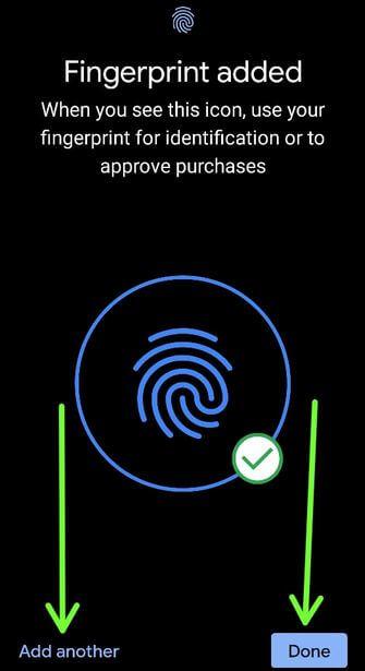 How to Set Up Fingerprint Sensor Pixel 4a 5G