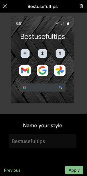 Change System Accent Color in Google Pixel 5