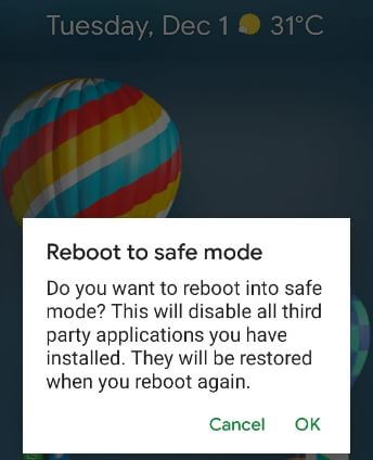 How to Enter Into Safe Mode on Pixel 5