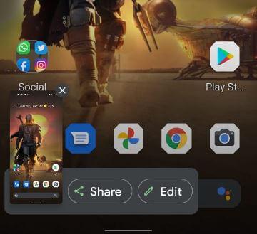 How to Take a Screenshot on Pixel 5