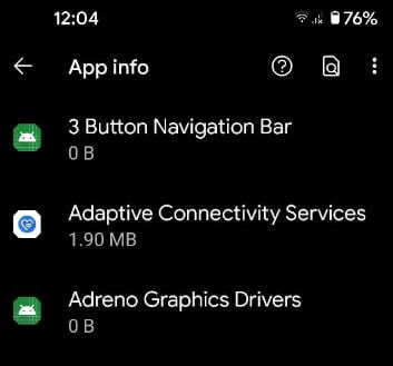 Remove default apps from Pixel 5
