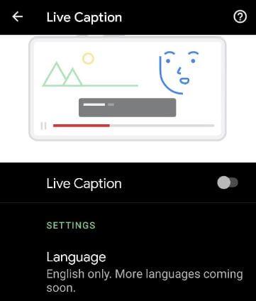 Turn Off Live Caption on Pixel 5