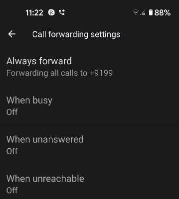 Use call forwarding on Google Pixel 5