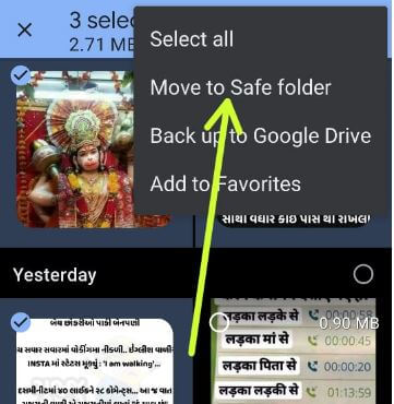 How to Hide Photos and Videos on Android 11 Stock OS