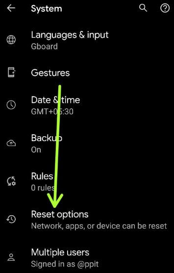How to Perform Factory Reset on Android 11