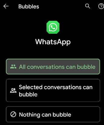 How to Turn Bubbles On & Off for Specific App on Android 11