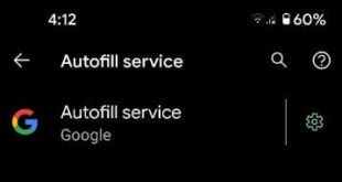 How to Turn on Autofill in Google Pixel 5