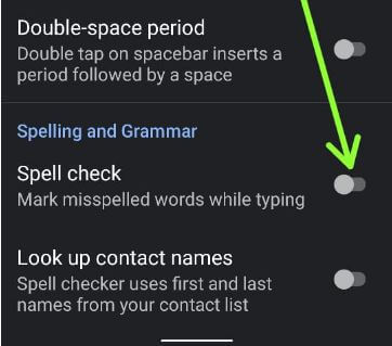 Turn On Spell Check on Android Stock OS
