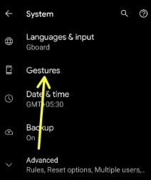 How to Use Gestures in Pixel 5