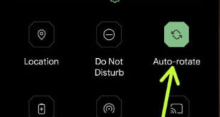 How to Enable Auto Rotate Screen in Android 11