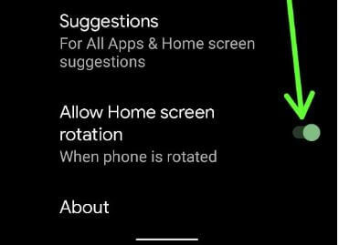 How to Enable Home Screen Rotation on Android 11