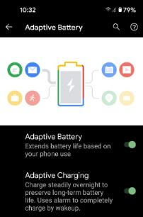How to Extend Battery Life of Pixel 5 using adaptive battery