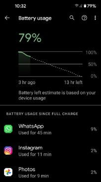 Reduce battery usage to fix Pixel 5 battery issue