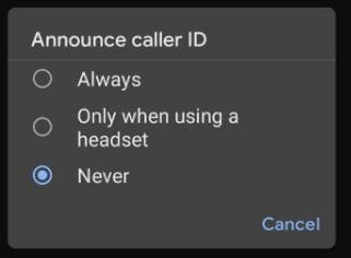 How to Enable Caller ID Announcement in Android 11