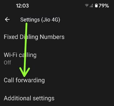 How to Forward Calls on Android 11