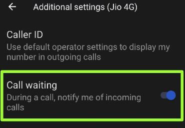 How to Turn On Call Waiting on Android 11