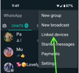 Use WhatsApp Linked Devices on Android or Samsung